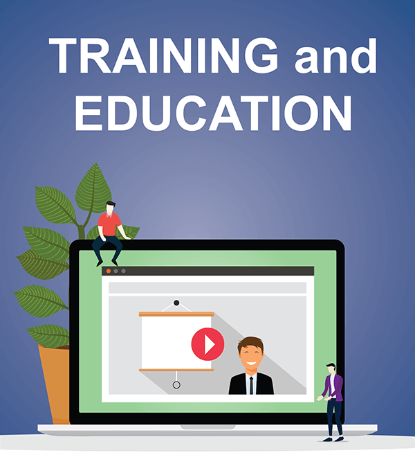 Training & Education Graphic