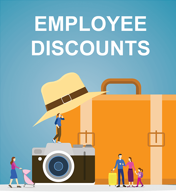Employee Discounts Graphic